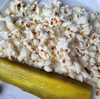 dill pickle gourmet popcorn