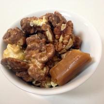 Caramel Toffee Almond gourmet popcorn