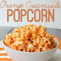 Orange Dreamsicle Popcorn
