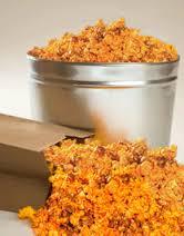 Rae's Best Popcorn ( Cheddar coated Caramel )