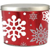 2 Gallon Let it Snow Gourmet Popcorn Tin