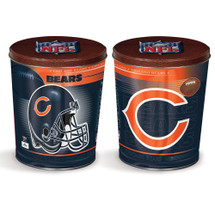 Chicago Bears 3 gallon Gourmet Popcorn Tin