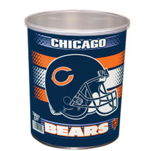 Chicago Bears 1 Gallon Popcorn Tin