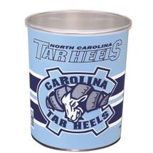 University of North Carolina 1 Gallon Popcorn Tin