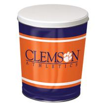 Clemson 3 Gallon Popcorn Tin