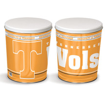 University of Tennessee 3 Gallon Popcorn Tin