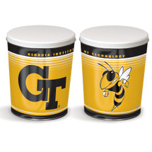 Georgia Tech 3 Gallon Popcorn Tin