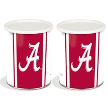 University of Alabama 1 Gallon Popcorn Tin