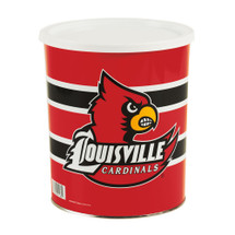 University of Louisville 1 Gallon Popcorn Tin