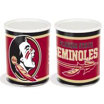 Florida State Univ. 1 Gallon Popcorn Tin
