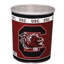 Universityof South Carolina 1 Gallon Popcorn Tin