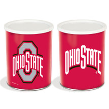 Ohio State University 1 Gallon Popcorn Tin