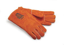 Leather Kiln Gloves, women's