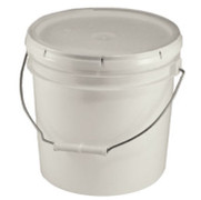 Bucket with Lid, 1 gallon