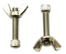 Stainless Steel Bat Pins, 1 pair