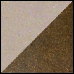 Wally's Blush Stoneware, left: cone 6 oxidation, right: cone 6 reduction