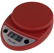Primo Digital Scale--Warm Red