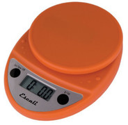 Primo Digital Scale--Pumpkin Orange