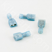 12 ga. Skutt Female Tab Connector 6 pk (Blue)