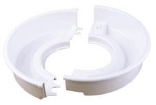 Shimpo Two-Piece White Splash Pan