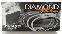 Diamond Pistons Diamond Pro Select - AP Steel Piston Rings 1.5mm x 1.5mm x 3mm - 3.630 Bore