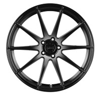 Vertini Wheels Vertini RF1.3 Gloss Black Rotary Forged 20x9 05 Mustang