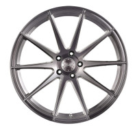 Vertini Wheels Vertini RF1.3 Brushed Titanium Rotary Forged 20x10.5 05 Mustang