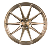 Vertini Wheels Vertini RF1.3 Brushed Bronze Rotary Forged 20x9 05 Mustang