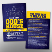 """Come Into God's House"" Invite Card #14168"