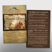 """Knowing Christ"" Invite Card #14200"