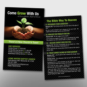 """Come Grow With Us"" Invite Card #14216"