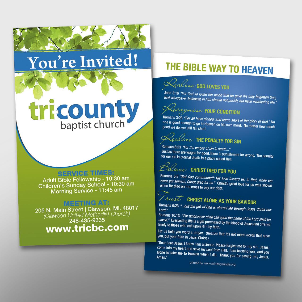 Invite Card #14231 - Ministry Supply