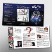 """Do You Know Him"" 3-Panel Tract #14013"