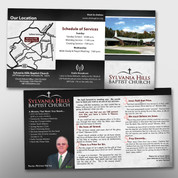 Black/Gray Theme 3-Panel Tract #14148