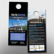 """You're Invited"" Door Hanger (small) #14166"