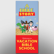 """A Bible Story"" VBS Banner #14049"