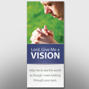 """Lord, Give Me A Vision"" Banner #14115"