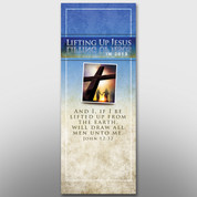"""Lifting Up Jesus"" Banner #14135"