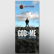 """God > Me"" Theme Banner #14186"