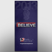"""iBelieve"" Theme Banner #14190"