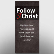 """Follow Christ"" Theme Banner #14196"