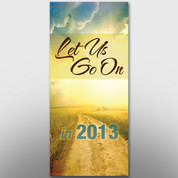 """Let Us Go On"" Theme Banner #14206"