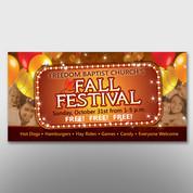 """""""Fall Festival"""" Banner #14021"""