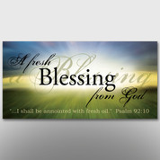"""A Fresh Blessing From God"" Theme Banner #14037"