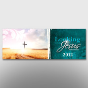 """Looking Unto Jesus"" Theme Banner #14096"
