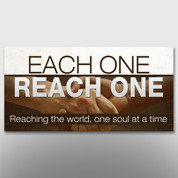"""Each One, Reach One"" Theme Banner #14139"
