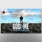 """God > Me"" Theme Banner #14189"