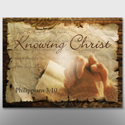 """Knowing Christ"" Theme Banner #14198"
