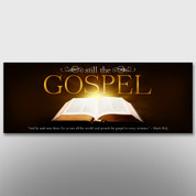 """Still The Gospel"" Theme Banner #14211"