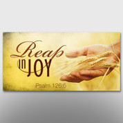 """Reap In Joy"" Theme Banner #14217"
